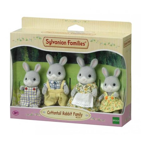 EPOCH Traumwiesen Sylvanian Families - Cottontail Rabbit Family