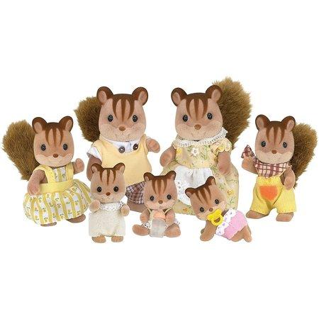 EPOCH Traumwiesen Sylvanian Families: Walnut Squirrel Family