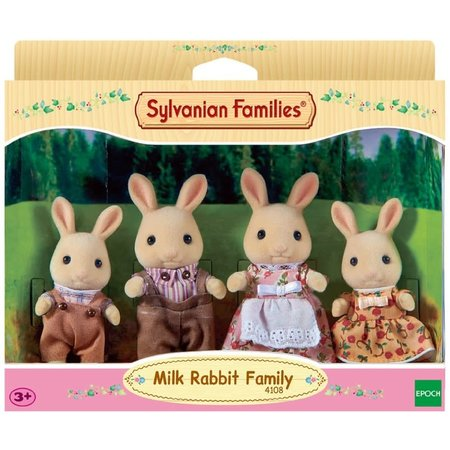 EPOCH Traumwiesen Sylvanian Families: Milk Rabbit Family