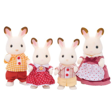 EPOCH Traumwiesen Sylvanian Families: Chocolate Rabbit Family