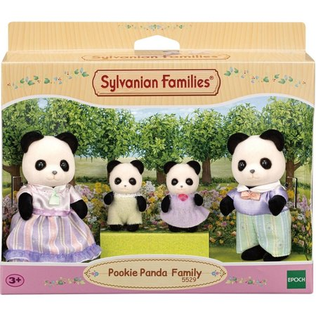 EPOCH Traumwiesen Sylvanian Families: Pookie Panda Family