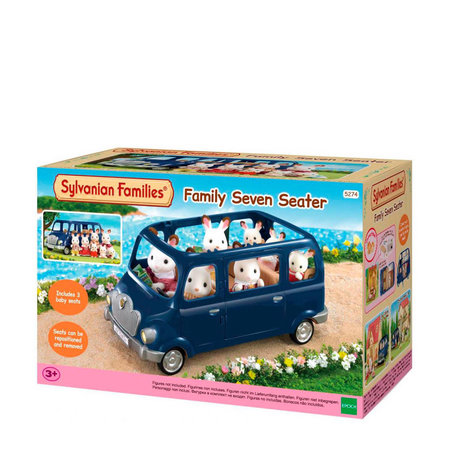 EPOCH Traumwiesen Sylvanian Families - Family Seven Seater
