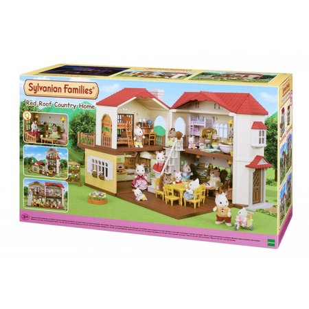 EPOCH Traumwiesen Sylvanian Families: Red Roof Country Home