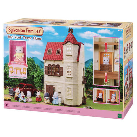 EPOCH Traumwiesen Sylvanian Families: Red Roof Tower Home