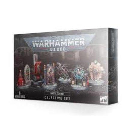 Games Workshop Warhammer 40K: Battlezone Objective Set