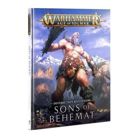 Games Workshop Battletome Sons of Behemat
