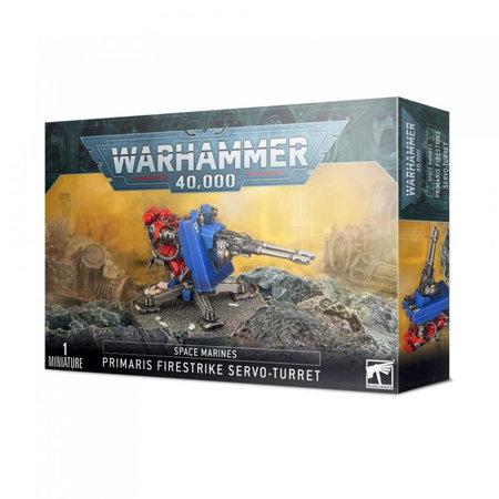 Games Workshop Space Marines: Primaris Firestrike Servo-Turret