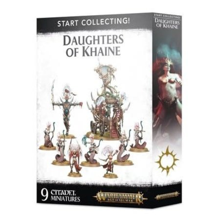 Citadel Miniatures Start Collecting! Daughters of Khaine