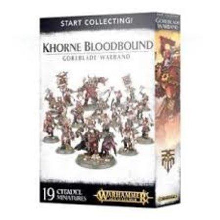 Games Workshop Start Collecting: Goreblade Warband