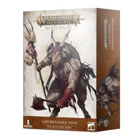 Games Workshop Broken Realms: The Butcher-Herd