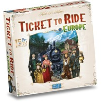 Ticket to Ride Europe 15th Anniversary Edition NL