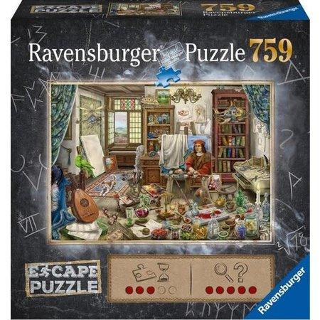 Escape puzzle: Kunstenaarsatelier (759)