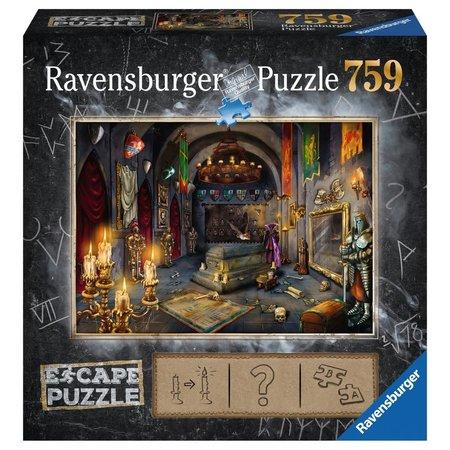 Ravensburger Escape puzzle: In het vampierenslot (759)