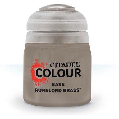 Citadel Miniatures Runelord brass (base)
