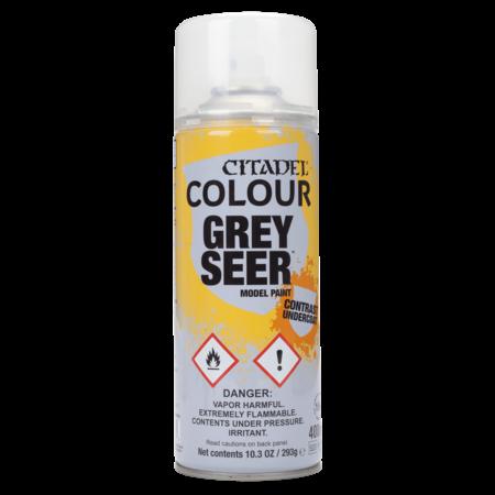 Citadel Miniatures Citadel Contrast: Grey Seer Spray (Primer)