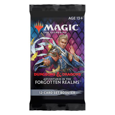 Wizards of the Coast MTG AFR Adventures in the Forgotten Realms Set Booster