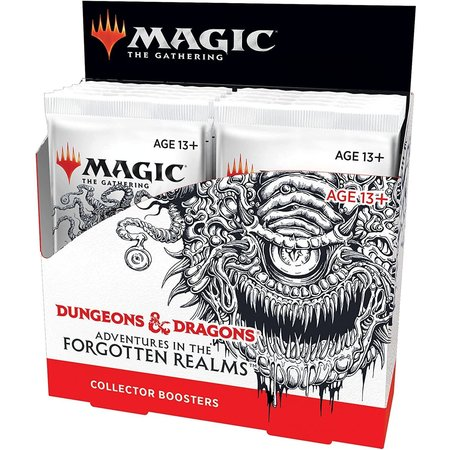 Wizards of the Coast MTG AFR Forgotten Realms Collector Boosterbox