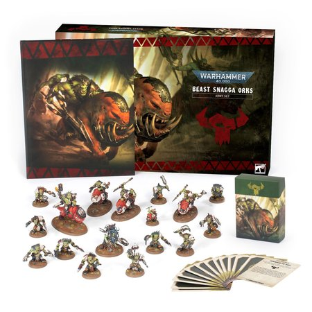 Games Workshop Warhammer 40.000: Beast Snagga Orks Army Set