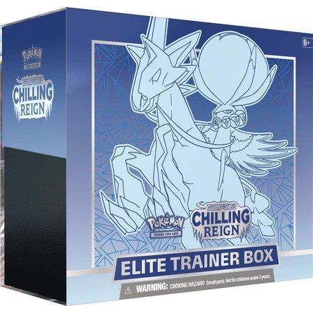 the pokemon company POK TCG Sword & Shield Chilling Reign Elite Trainer Box