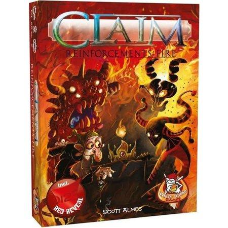 White Goblin Games Claim reinforcements: Fire - Uitbreiding