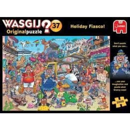 Jumbo Wasgij Original 37: Vakantiefiasco! (1000)