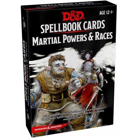 GaleForce Nine D&D Spellbook Cards Martial Powers & Races nieuw