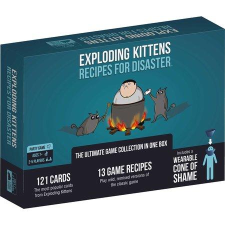 Exploding Kittens Exploding Kittens: Recipe For Disaster (Eng)