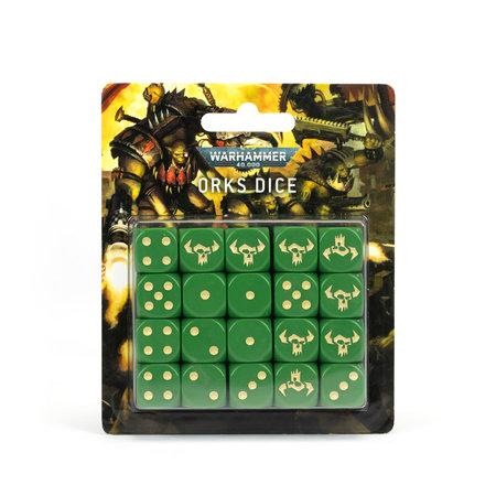 Games Workshop Warhammer 40000: Orks Dice