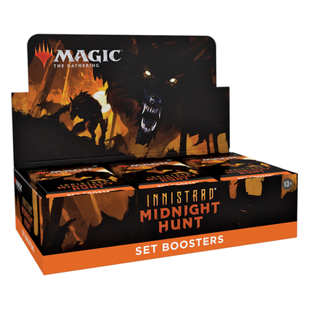Wizards of the Coast MTG IMH Innistrad Midnight Hunt Set Boosterbox