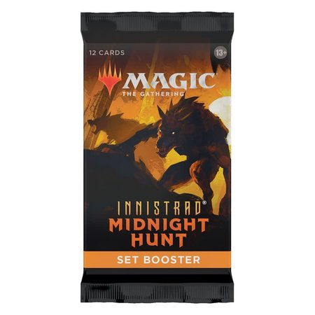 Wizards of the Coast MTG IMH Innistrad Midnight Hunt Set Booster