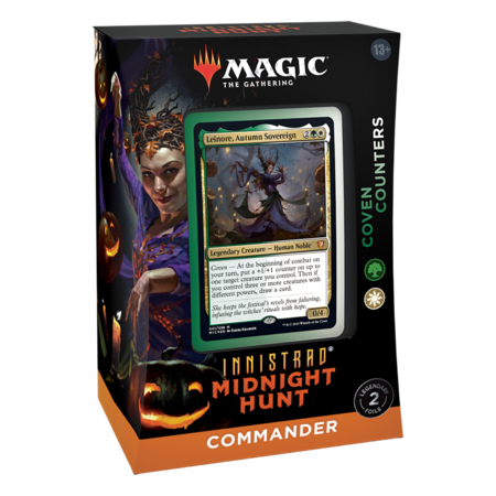 Wizards of the Coast MTG IMH Innistrad Midnight Hunt Commander Deck - Coven Counters
