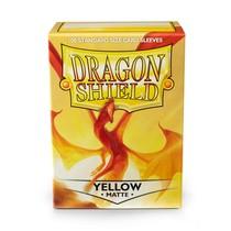 Dragon Shield Sleeves: Yellow Matte