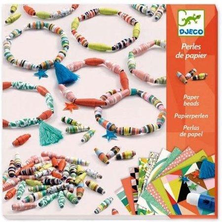 Djeco Papieren Parels: Lente Armbanden