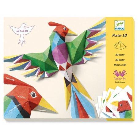 Djeco 3D Poster: Amazonegebied