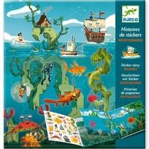 Stickerverhalen: Avonturen op zee