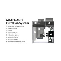 thumb-Red Sea Max Nano Complete Reef System - White-2