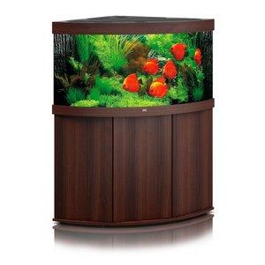 Juwel Aquarium Trigon 350 Donkerbruin Set LED