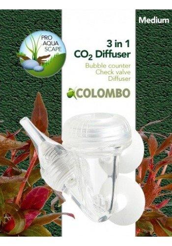 Colombo CO2 3 in 1 diffusor medium