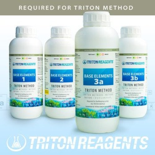 Triton Triton Base elements set 1,2,3A,3B - 4 x 1000ml