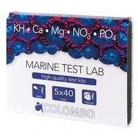 Colombo marine test lab KH Ca Mg NO3 en PO4
