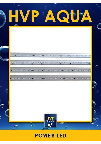 HVP Aqua 146 CM wit Coral LED lamp 96W 2 watt led