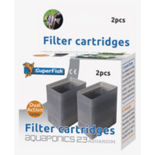 SuperFish SUPERFISH AQUAPONICS 23 CARTRIDGE 2 STK