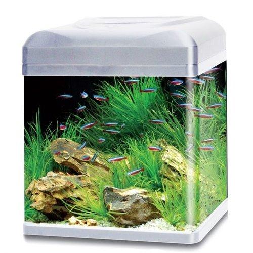 HS Aqua HS Aqua aquarium lago 30 LED zilver