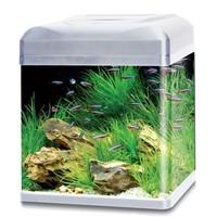 HS Aqua aquarium lago 40 LED zilver