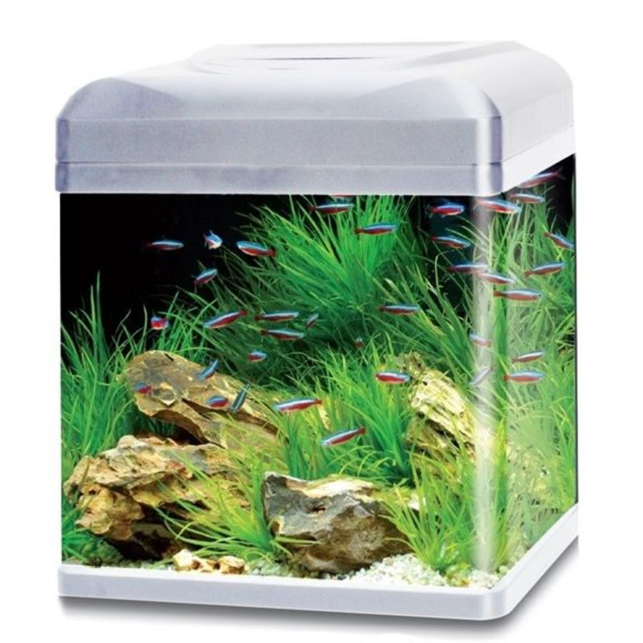 HS Aqua aquarium lago 40 LED zilver-1