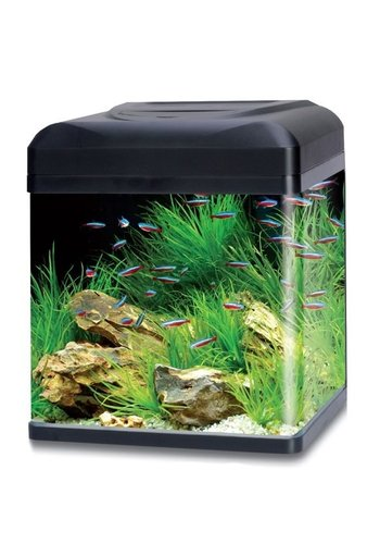 HS Aqua aquarium lago 40 LED zwart