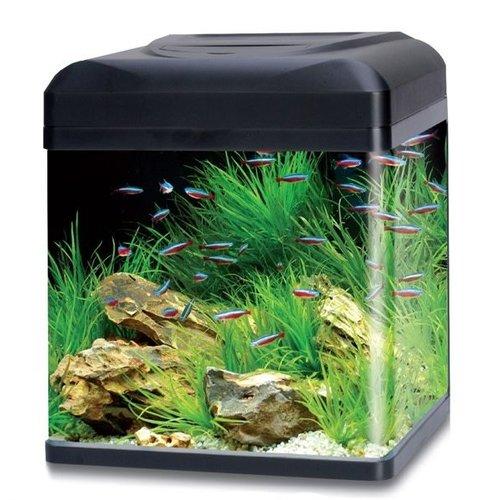 HS Aqua HS Aqua aquarium lago 40 LED zwart
