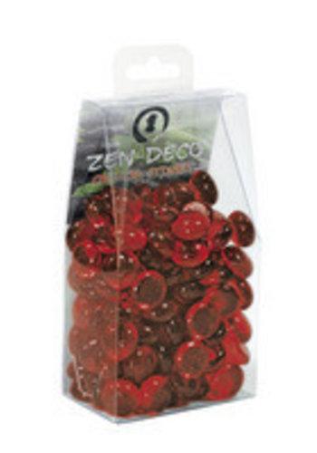 Superfish crystal stones 300 gram rood