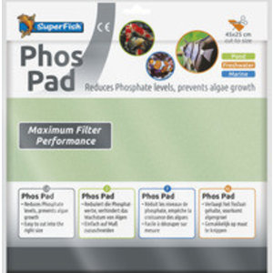 SuperFish SuperFish Phos Pad 45x25 cm