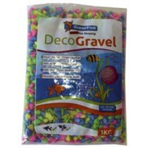 SuperFish SuperFish Deco grind neon mix 1kg